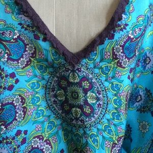 Johnny Was silk Tunic Dress